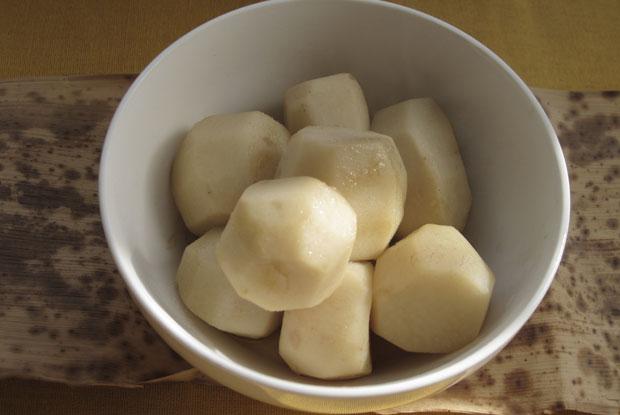 Japanese-Taro-Tumbles- Japanese recipe Japanese cuisine