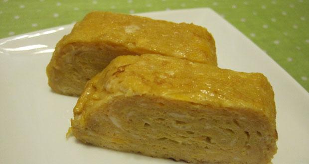 Rolled-Omelette - Japanese recipe Japanese cuisine
